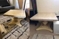 2 marble-top tables Chicago, 60608