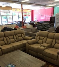 Brand New Sofa Love Seat/ Leather Sectional Roseville