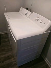 white front-load clothes washer Douglasville