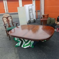 Oval cherrywood dining table with 4 chairs District Heights, 20747