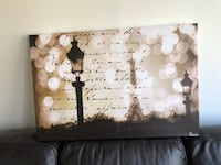 white and black wooden wall decor Springfield, 22153