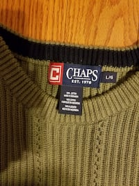 Chaps men's sweater L size Laurel, 20707