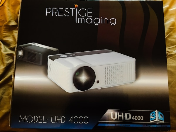 Used Prestige imaging uhd 4000 projector. for sale in ...