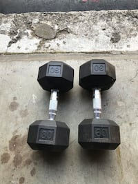 Set of 30lb dumbells