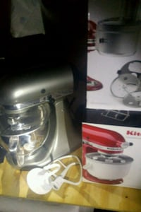 KitchenAid mixer and 2 accessories food processor  Portland, 97266