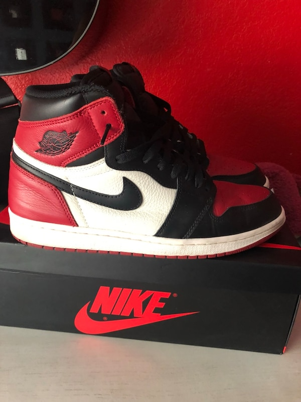 8e964431eb5c93 Used Bred Toe 1 s Size 11 for sale in Hayward - letgo