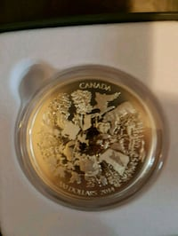 $200 for $200 2 oz Fine Silver Coin Mississauga, L4Z 0A5