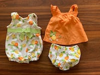 Baby girl outfits 0-3months Mississauga, L5A 2V2