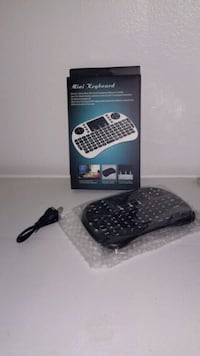Mini 2.4GHz Wireless Keyboard w/Touchpad for PC TV