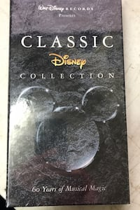 Disney songs cd and book Newmarket, L3X 0G7
