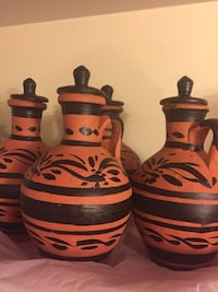 Clay jars (filtering water) with lid $20 each Ashburn, 20147