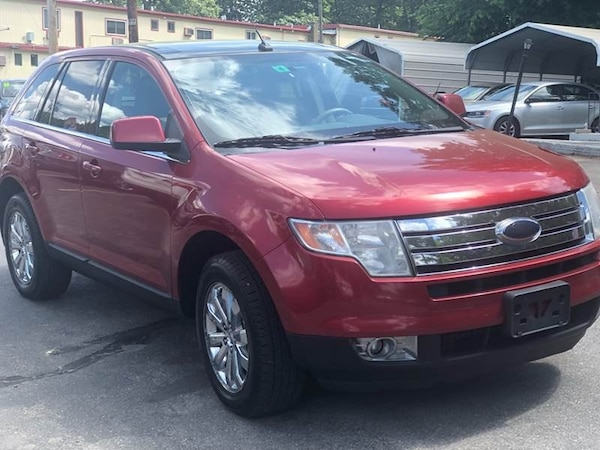Ford Edge Red