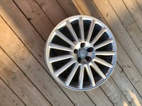 Gray multi-spoke auto wheel Kitchener, N2R 0B5