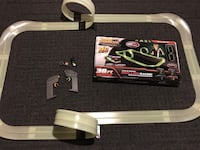 Max traxxx remote control glow in the dark dual lane racing(needs Batteries) does work