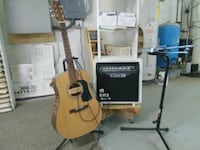 Washburn d10 acustic, and spider iii in line 6 amp Duncannon, 17020