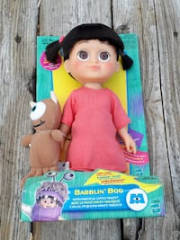 Monsters Inc. Babblin' Boo and Magical Little Mikey Toy