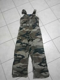 Camouflage youth X-large overralls