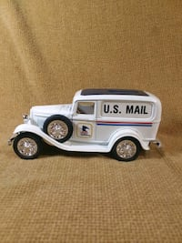 US Postal 1932 Ford Delivery Van Coin Bank