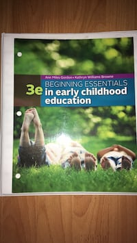 Beggining essentials in early childhood education; Binder is included Glendale, 91203
