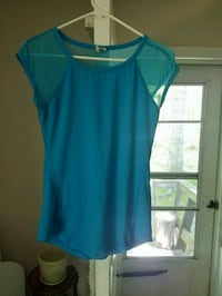 Small blue athletic with mesh top  Murphy, 28906