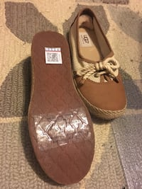 pair of brown leather slip-on shoes Rockville, 20853