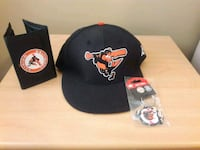 Baltimore Orioles hat, wallet, and key chain Lutherville-Timonium, 21093