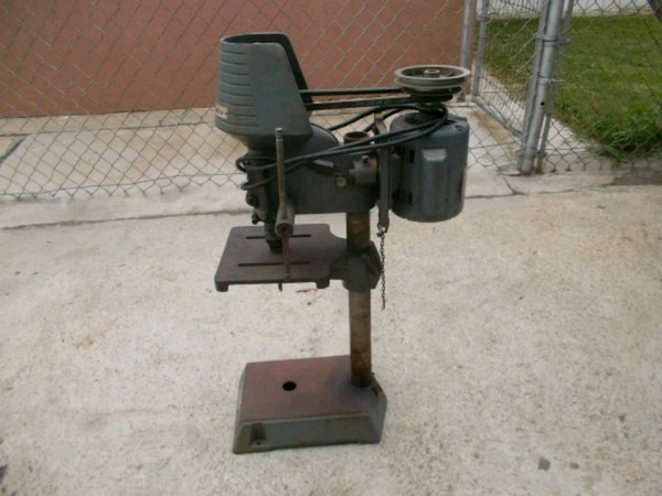 Rockwell Bench Top Drill Press, Made In U S A
