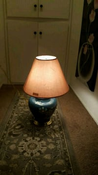 brown and black table lamp Pacheco