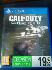Coque de jeu Activision Call of Duty Ghosts PS4 La Madeleine, 59110