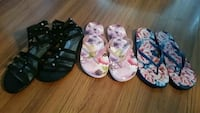 Lot of women's sandals size 8.5 Chicago, 60638