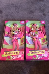 Sixties Fun Barbie - Limited Edition (2 for $48)  Toronto, M9M 1G3