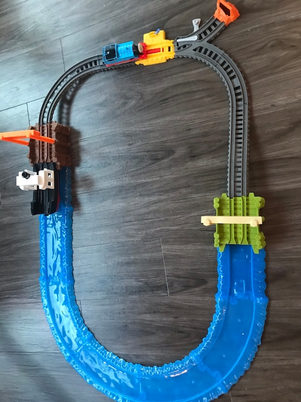 Thomas track with battery operated Thomas