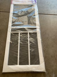 Vinyl Hinged Screen Door Gilbert, 85296