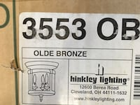 Bronze Lighting Fixture - New in Box!