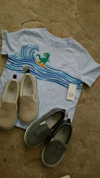 Baby gap t short size 2 and also baby gap shoes sz Winnipeg, R2L 1Z6