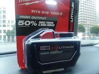 milwaukee m18 high output red lithum Los Angeles