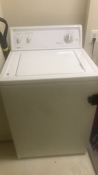 white top-load clothes washer 50 km