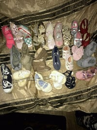 Baby  shoes and sandals 3-6 months  Loma Linda, 92354