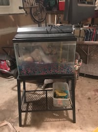 20 gallon tank with stand and supplies  Derwood, 20855
