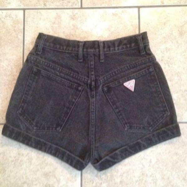 ebf85989d3ad Sherry Little. Tap to see more pictures. Swipe to see more info. women s  black denim short shorts