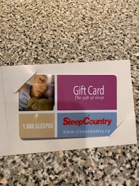 $1000 Sleep Country Gift Card