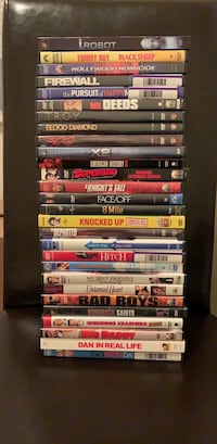 assorted DVD movie case lot Union City, 94587