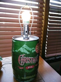 Barrell Table Light crafted