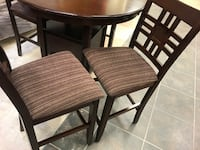 Tall dining table and Chairs RANDOLPH