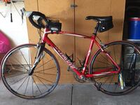 Red specialized mountain bicycle Rancho Santa Margarita, 92679