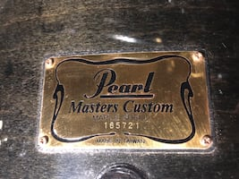 Pearl Master Drumset