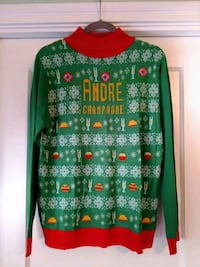 Andre Champagne Ugly Sweater