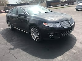 2009 BLACK LINCOLN MKS LEATHER MOONROOF HEATED SEATS 4 DOOR DEPENDABLE