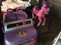 car and horse both for $135  null