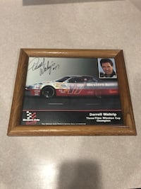 Darrel Waltrip signed picture Chantilly, 20152